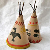 Super fun kids thanksgiving crafts to keep them busy on for American indian crafts for kids