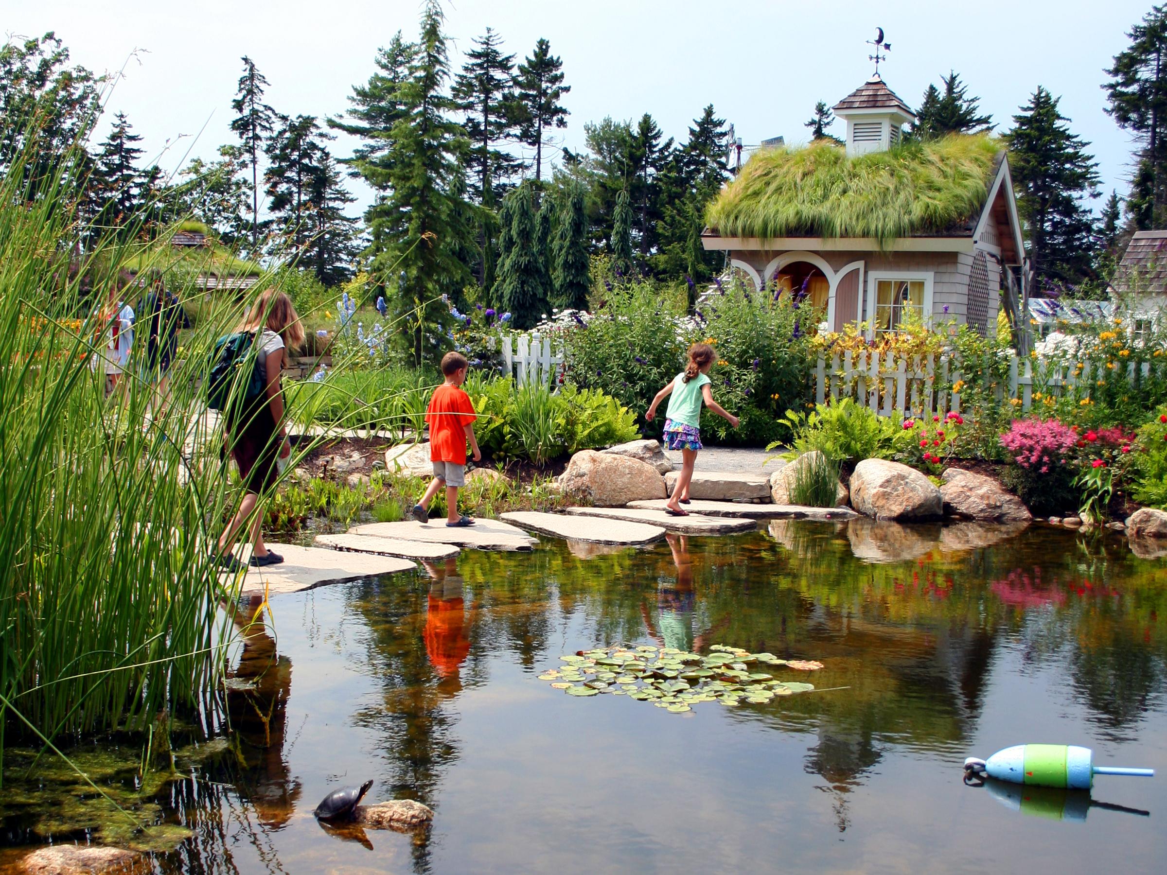 Coastal Maine Botanical Gardens Portland Kids Calendar