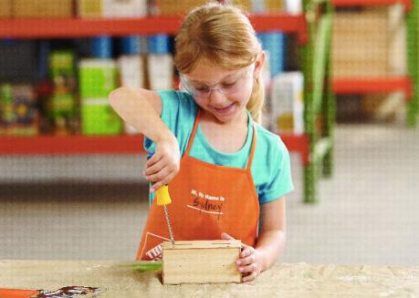 FREE Home Depot Kids Workshop 107 Build A Fire Station Coin Bank