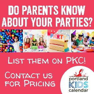 Birthday Parties Portland Kids Calendar